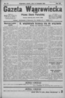 Gazeta Wągrowiecka: pismo ziemi pałuckiej 1933.11.24 R.13 Nr271