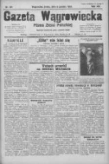 Gazeta Wągrowiecka: pismo ziemi pałuckiej 1933.12.06 R.13 Nr281
