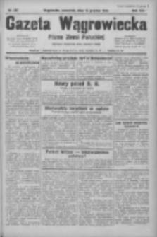 Gazeta Wągrowiecka: pismo ziemi pałuckiej 1933.12.14 R.13 Nr287