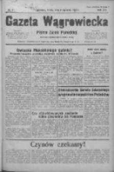 Gazeta Wągrowiecka: pismo ziemi pałuckiej 1936.01.08 R.16 Nr5