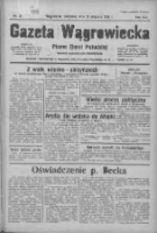 Gazeta Wągrowiecka: pismo ziemi pałuckiej 1936.01.19 R.16 Nr15