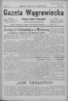 Gazeta Wągrowiecka: pismo ziemi pałuckiej 1936.01.21 R.16 Nr16