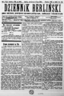 Dziennik Berliński. Pismo codzienne poświęcone sprawom politycznym, społecznym i ekonomicznym. 1904 R.8 nr164