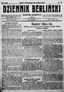 Dziennik Berliński. 1922 R.26 nr18