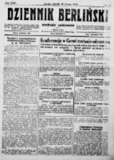 Dziennik Berliński. 1922 R.26 nr33