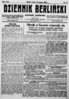 Dziennik Berliński. 1922 R.26 nr34