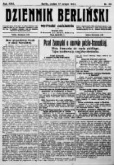 Dziennik Berliński. 1922 R.26 nr36