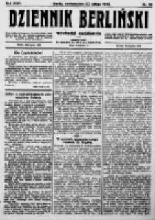 Dziennik Berliński. 1922 R.26 nr38