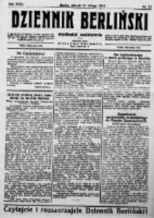 Dziennik Berliński. 1922 R.26 nr39