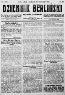 Dziennik Berliński. 1922 R.26 nr43