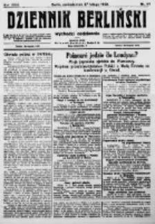 Dziennik Berliński. 1922 R.26 nr44