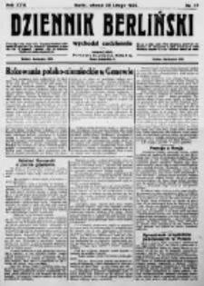 Dziennik Berliński. 1922 R.26 nr45