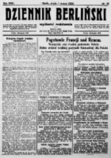 Dziennik Berliński. 1922 R.26 nr46