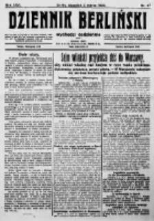 Dziennik Berliński. 1922 R.26 nr47
