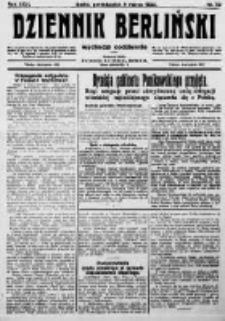 Dziennik Berliński. 1922 R.26 nr50