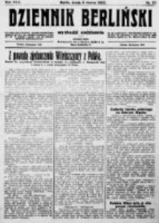 Dziennik Berliński. 1922 R.26 nr52