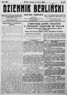 Dziennik Berliński. 1922 R.26 nr57