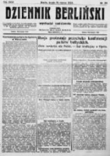 Dziennik Berliński. 1922 R.26 nr58