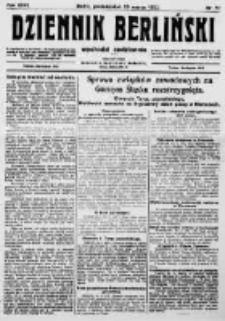 Dziennik Berliński. 1922 R.26 nr62