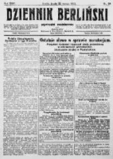 Dziennik Berliński. 1922 R.26 nr64
