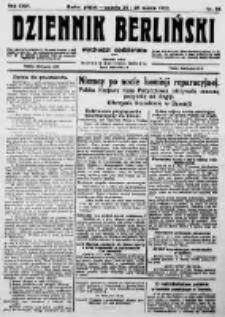 Dziennik Berliński. 1922 R.26 nr66