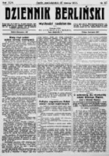 Dziennik Berliński. 1922 R.26 nr67