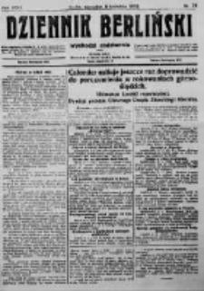 Dziennik Berliński. 1922 R.26 nr76