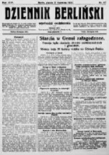 Dziennik Berliński. 1922 R.26 nr87