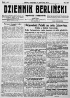 Dziennik Berliński. 1922 R.26 nr92