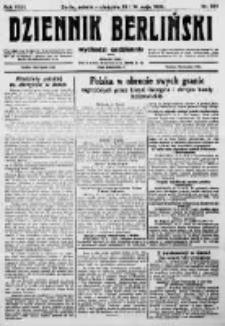 Dziennik Berliński. 1922 R.26 nr104