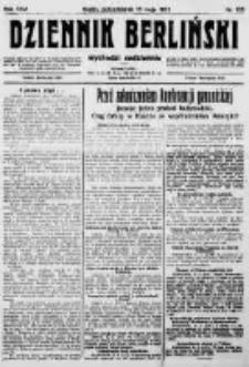 Dziennik Berliński. 1922 R.26 nr105