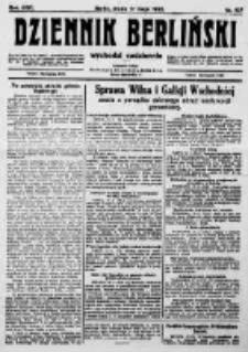 Dziennik Berliński. 1922 R.26 nr107