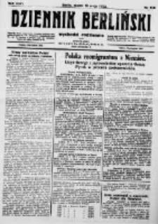 Dziennik Berliński. 1922 R.26 nr109