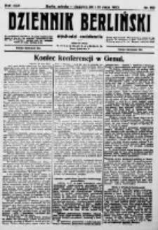 Dziennik Berliński. 1922 R.26 nr110