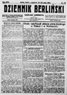 Dziennik Berliński. 1922 R.26 nr113