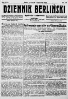 Dziennik Berliński. 1922 R.26 nr119