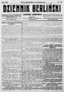 Dziennik Berliński. 1922 R.26 nr132