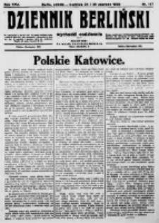 Dziennik Berliński. 1922 R.26 nr137
