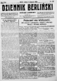 Dziennik Berliński. 1922 R.26 nr167