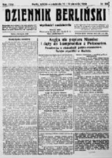 Dziennik Berliński. 1922 R.26 nr168