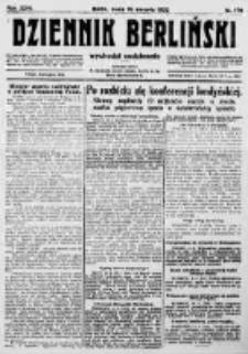Dziennik Berliński. 1922 R.26 nr170