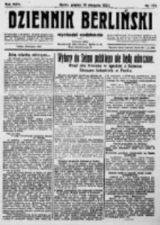Dziennik Berliński. 1922 R.26 nr172
