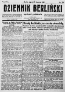 Dziennik Berliński. 1922 R.26 nr178