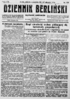 Dziennik Berliński. 1922 R.26 nr179