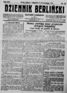 Dziennik Berliński. 1922 R.26 nr190