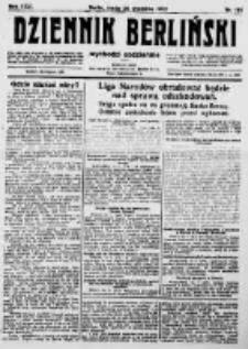 Dziennik Berliński. 1922 R.26 nr199