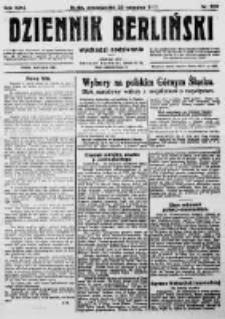 Dziennik Berliński. 1922 R.26 nr203