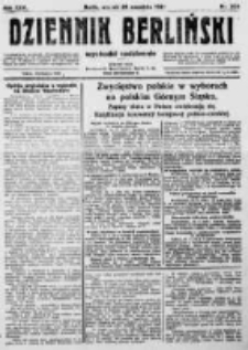 Dziennik Berliński. 1922 R.26 nr204