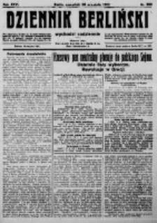 Dziennik Berliński. 1922 R.26 nr206
