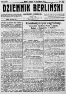 Dziennik Berliński. 1922 R.26 nr207